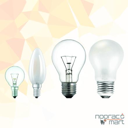 لامپ و روشنایی - لامپ رشته ای