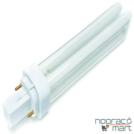 لامپ 26 وات PLC دو پین