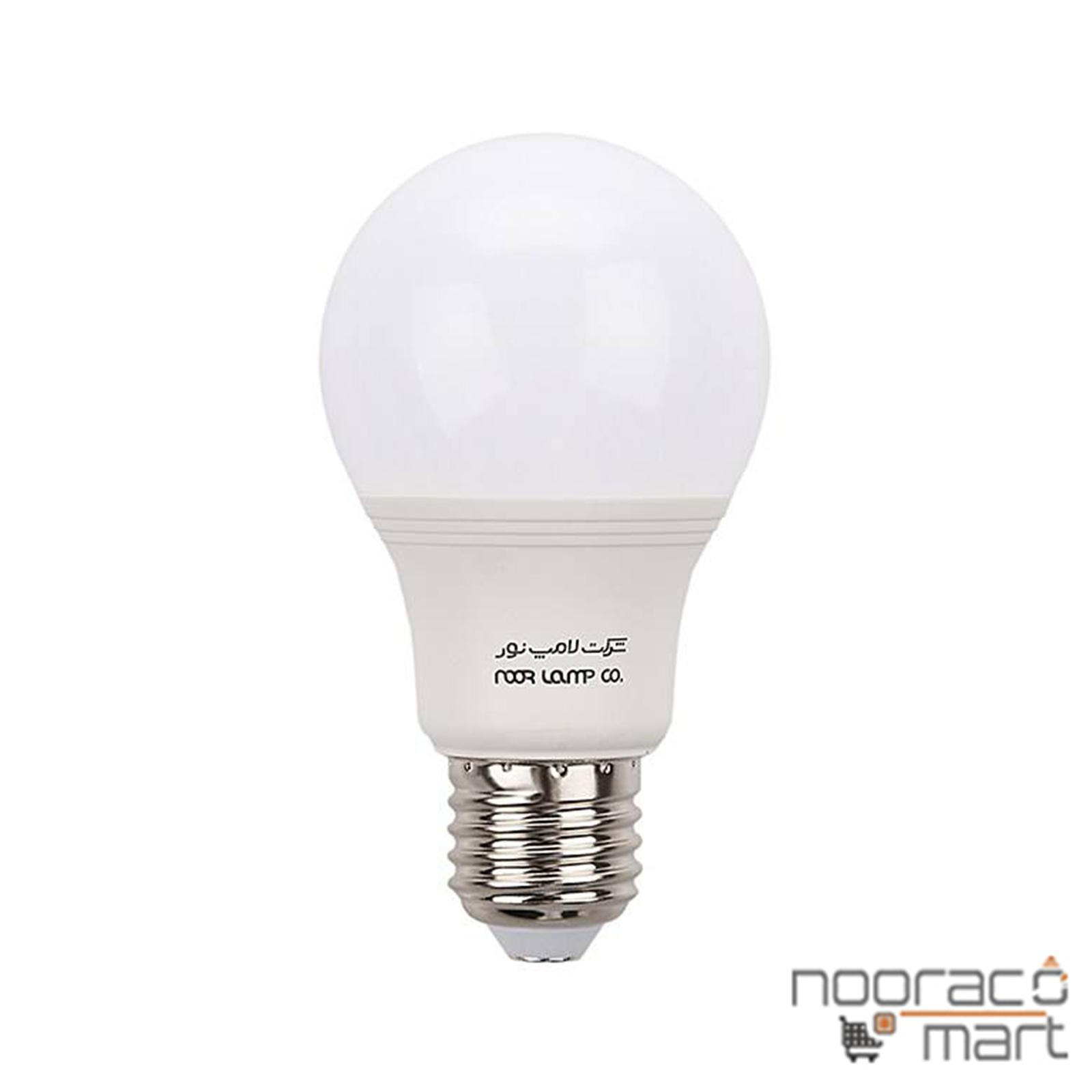 لامپ حبابی 9w ال ای دی
