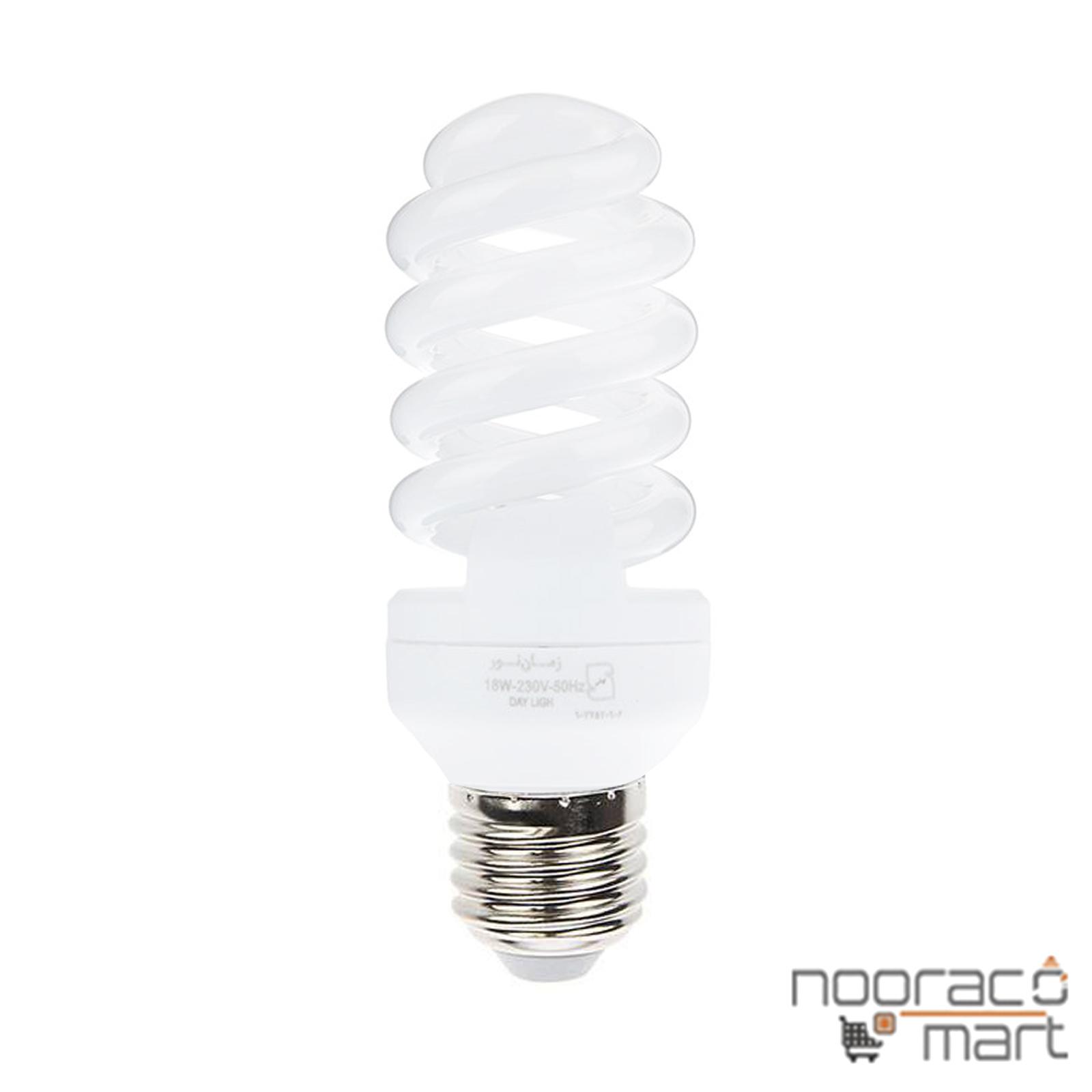 لامپ کم مصرف 18 وات